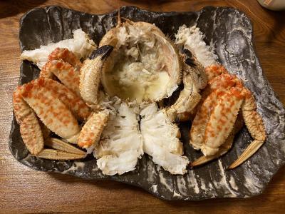 青森女ひとり旅2泊3日 (2) - トゲクリガニを食す
