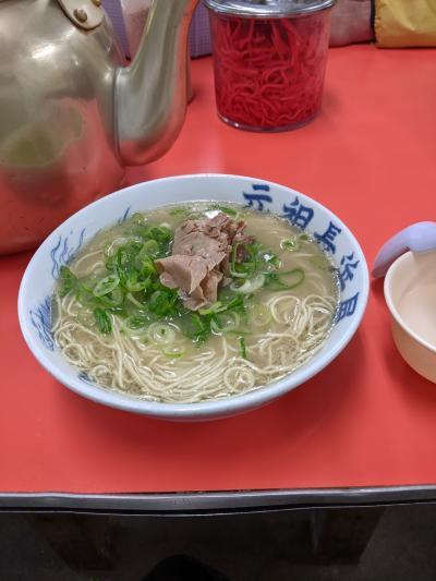 初上陸!九州!先ずは豚骨ラーメン食べ歩記。
