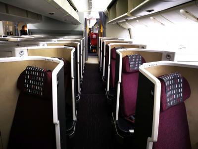 JAL国際線機材の777-200フルフラットシートのクラスJ体験