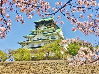 春爛漫桜満開の大阪城&周遊パスで大阪巡り☆