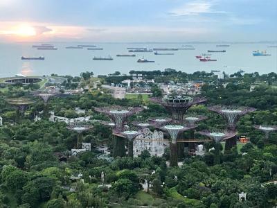 2017/11 シンガポール3泊4日 マリーナベイサンズには1泊だけ