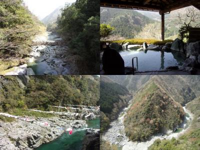 施無畏の心で旅した春の高知&徳島 その3(終) 徳島の秘境、祖谷渓と大歩危へ & 日本一の大杉を見たら高知空港からANAに乗って帰路へ