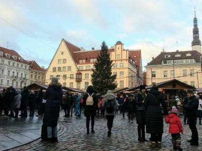 ヘルシンキから日帰りタリン。クリスマスマーケット目当てに1泊5日の新春旅