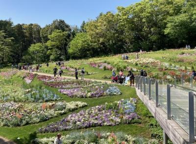 「ガーデンネックレス横浜2021」。2年ぶりに「里山ガーデンフェスタ」へ。