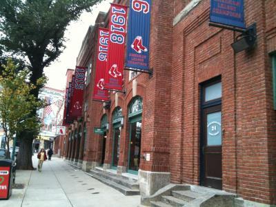 マサチューセッツ州 ボストン - フェンエウィパークはレッドソックスの本拠地