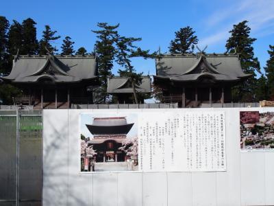 熊本県滝めぐり(2) 震災の爪痕残る阿蘇神社に参拝