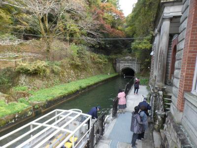 京都 琵琶湖疏水 蹴上船溜 (Keage port, Biwako Canal, Kyoto, JP)