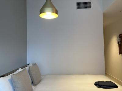 シンプルな素敵ホテルで気分転換