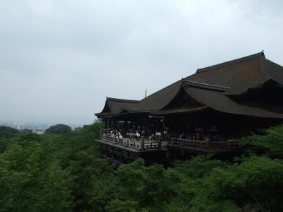 京随一の観光名所、清水さん
