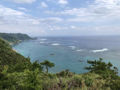 初沖縄なのに天気は下り坂...
