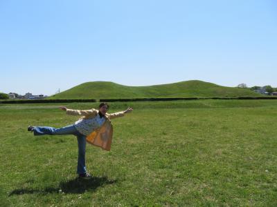 心の安らぎ旅行 (2021年4月 行田市 Part3 さきたま古墳群を見たくて♪二子山古墳)