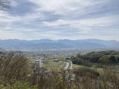 2021年04月 長野市トレッキングコース_つつじ山コース
