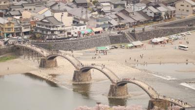 岩国 錦帯橋と白蛇神社