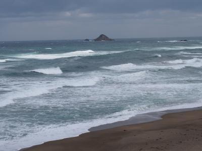 日帰り鳥取滝めぐり(1) 白兎海岸と白兎神社