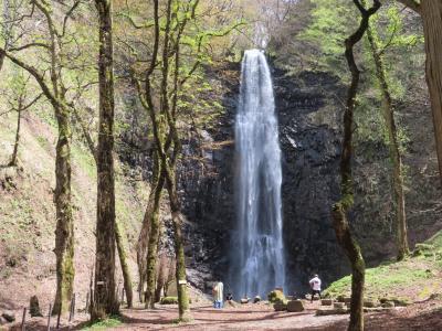 晴れおじさん「鳥海山麓の滝」を見に行く