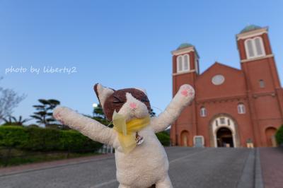 金魚と教会。仕事の合間の長崎ショートトリップ。