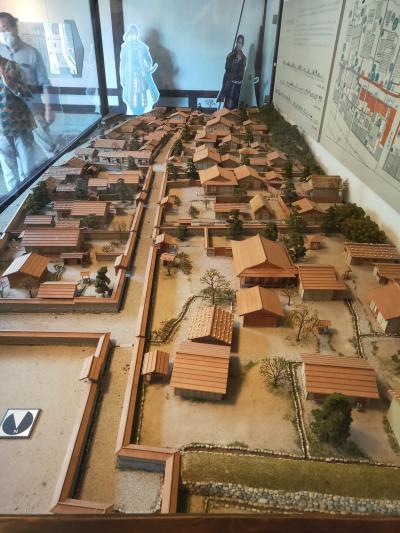 100名城全登城の旅 その2朝倉氏遺跡で100名城の登城完結