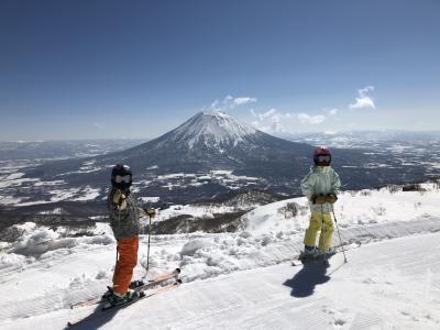 JALダイナミックツアーで春スキー 融雪加速のシャバ祭り ②キロロ、ニセコ(グラン・ヒラフ、アンヌプリ)