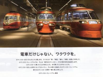 4月19日オープンした小田急ロマンスカーミュージアムに行ってきました