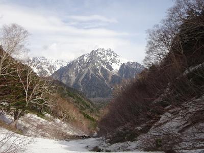 明神池、徳本峠(上高地:長野県)2021.4.24~25