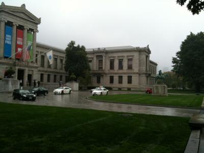 マサチューセッツ州 ボストン - ボストン美術館に到着