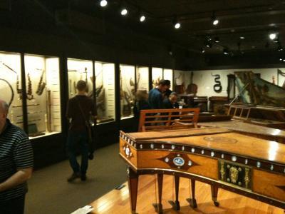 マサチューセッツ州 ボストン - ボストン美術館(2)  楽器