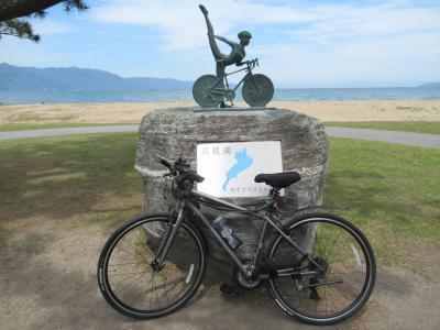 琵琶湖サイクリストの聖地 クロスバイクで京都さんぽ2021