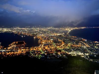 桜満開☆初めての函館 静かにひとり旅 函館夜景編 ①