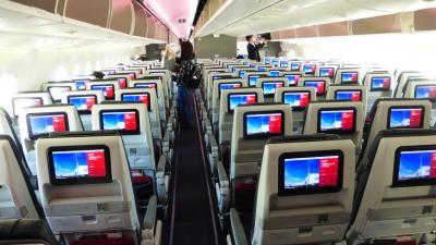 JALタイムセール利用 横浜1泊2日旅【JAL310便 福岡~羽田 国内線用B787-8初搭乗編】