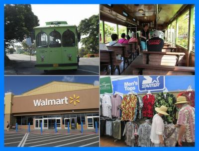 ハワイ満喫2013(15)コナトロリーでショッピング。ウォルマート編