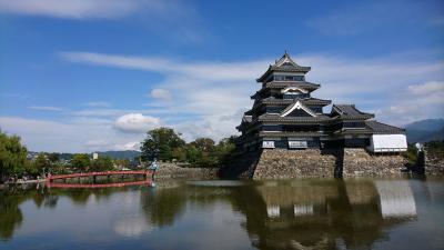 日本に現存する天守閣全部行く。其の六  松本城