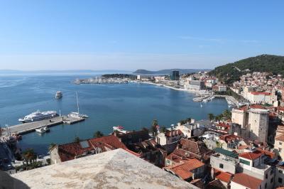 クロアチアの旅 4日目 スプリット~ザグレブへ
