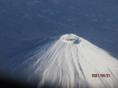 石垣再訪(4)富士山再見。