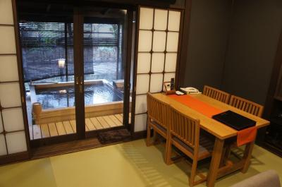 2021年2月 伊豆長岡温泉「石のや」2度目は檜の露天付き客室 お料理と日本酒でごきげん 翌日は伊豆 三津シーパラへ