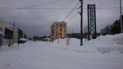 冬の温泉。北海道豊富温泉は泉質が最高です。