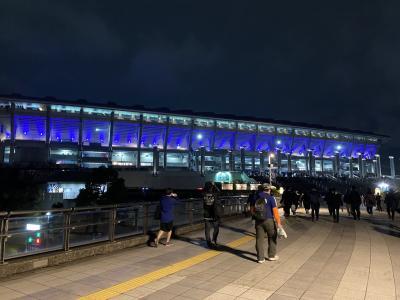 【2021】サッカー日本代表「SAMURAI BLUE」日韓戦 観戦旅行記【日帰り】