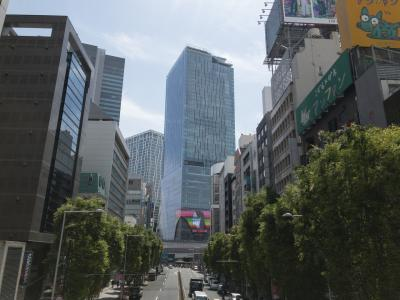 渋谷の新たなランドマーク、「スクランブルスクエア」に行ってみた。