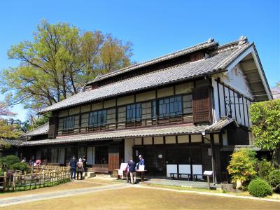 青天を衝くが如き晴天の一日 桜満開の深谷市血洗島で渋沢栄一の生誕地「旧渋沢邸 中の家」を訪れる