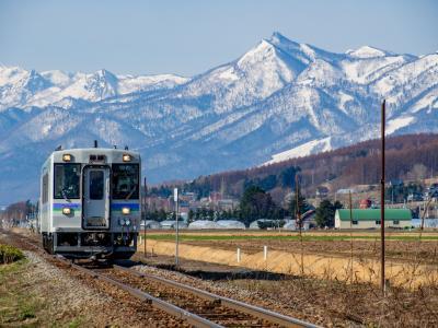 きた北海道鉄旅02 : のかなんちゃんとにしなかくんに出会い豊富温泉のお宿へ