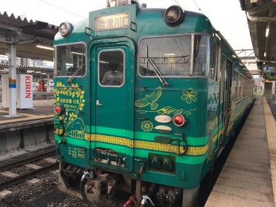 【2019年夏の乗り鉄】第3弾:磐越東線・只見線
