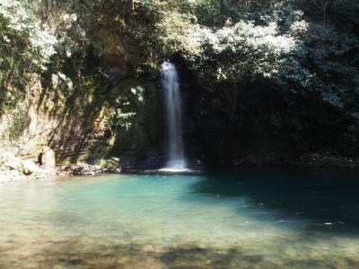 2017年春 鹿児島湯めぐり旅(3) 滝メグラーが行く206 エメラルドグリーンの滝壺を持つ朝陽轟滝 薩摩川内市