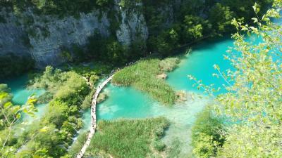 2019夏クロアチア旅行−プリトヴィツェ−