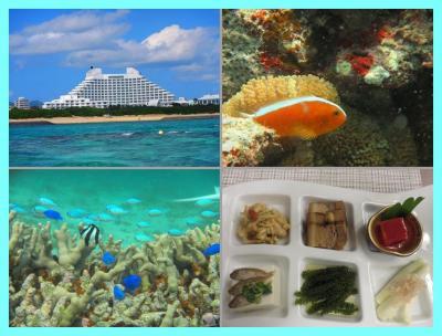 沖縄離島巡り2015(3)インターコンチ石垣前のマエサトビーチでダイビング&ディナーは八重山会席