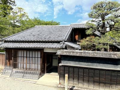 津と松阪 城巡りの旅