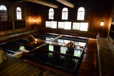 法師温泉「長寿館」で秘湯を楽しむ