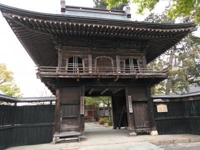 村上市寺院めぐり前半