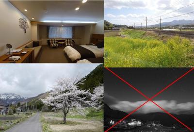 荒天で星空は見れず…2021年春・最後の桜鑑賞を楽しんだ、春のみなかみ旅~