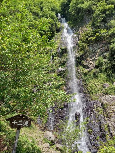 森林浴と滝巡り.空中の村