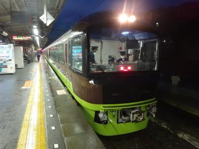 日曜日の午後・プチオフ会で出かけてきた【その3】 横浜駅と拝島駅での分割併合。その後リゾートやまどりに乗る