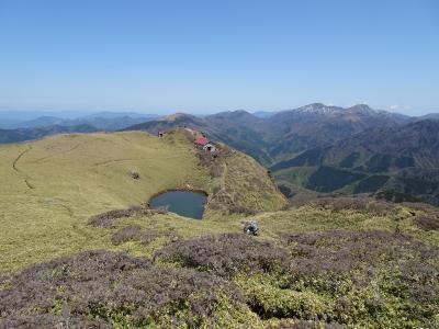 四国の山旅♪三嶺、大麻山、讃岐富士